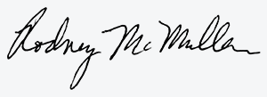 Signature of Rodney McMullen